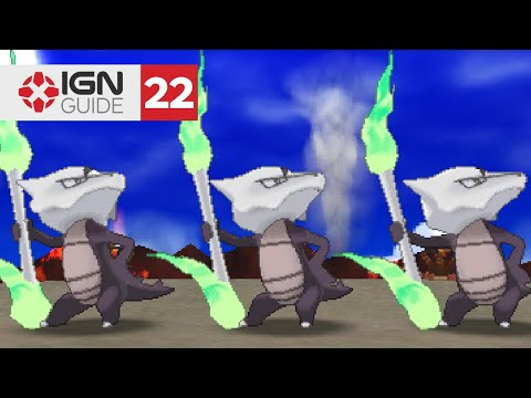 Pokemon: Ultra Sun and Ultra Moon Walkthrough - Wela Volcano Park