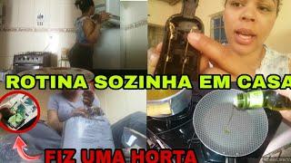 COMO UMA MULHER SE VIRA MORANDO SOZINHA/ rotina (vlogao)