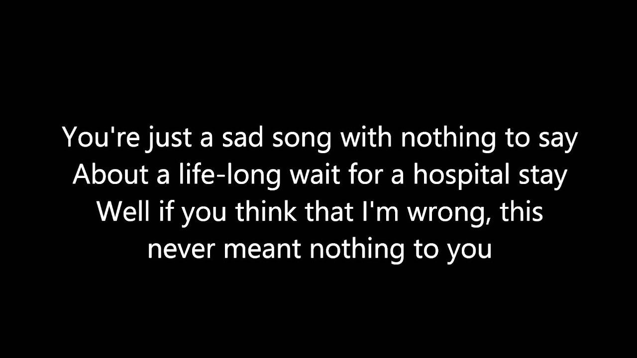 Disenchanted - Lyrics - My Chemical Romance - YouTube