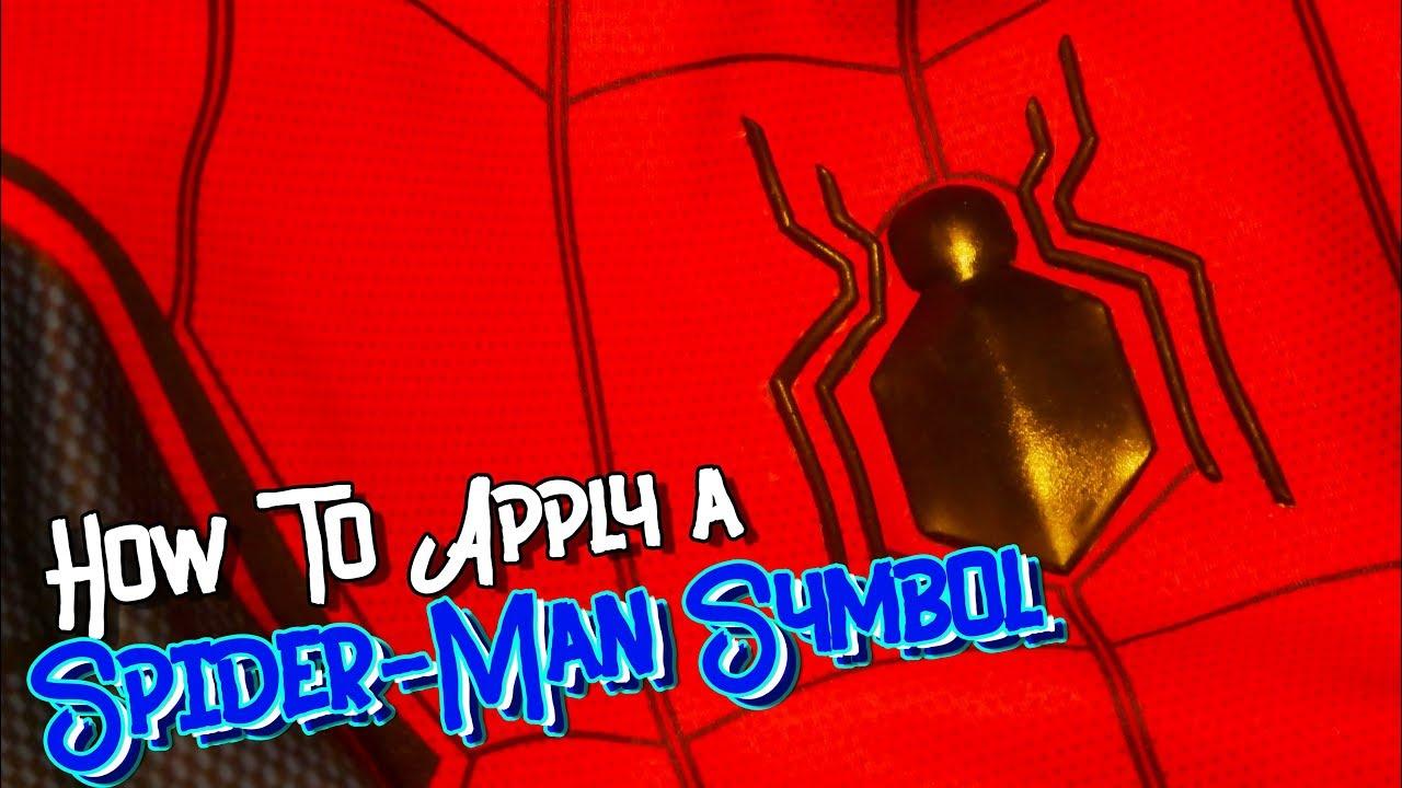 New Spider Man Symbol Tutorial Youtube