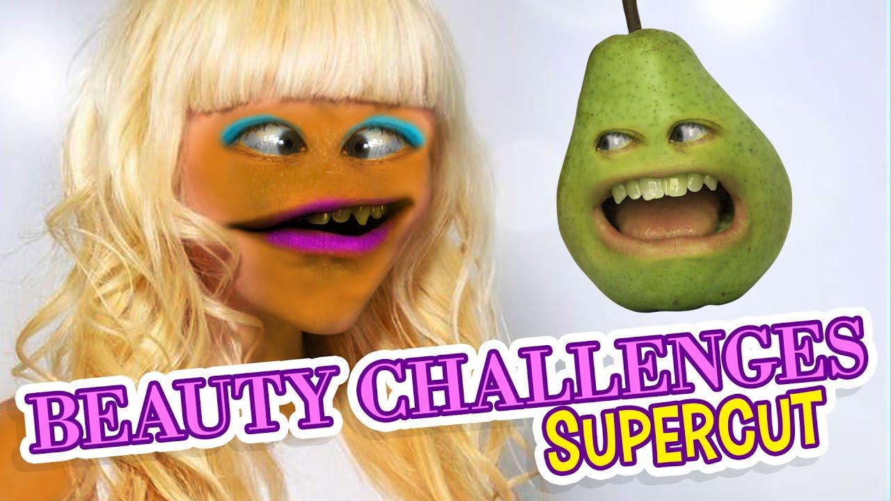 Annoying Orange - Beauty Challenges Supercut
