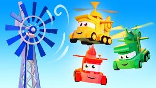 Vídeos de caminhões para crianças - A Turbina Eólica - T...
