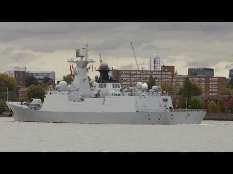 Chinese Navy (PLAN) warship