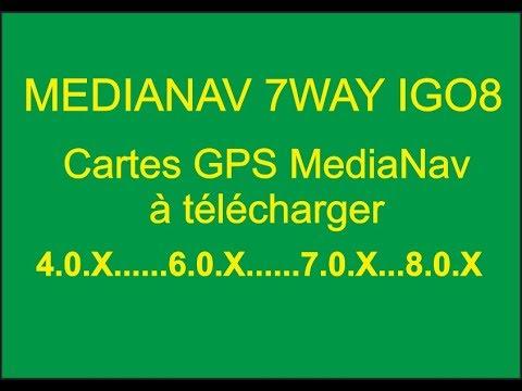 GPS IGO8 CARTE GRATUIT TÉLÉCHARGER