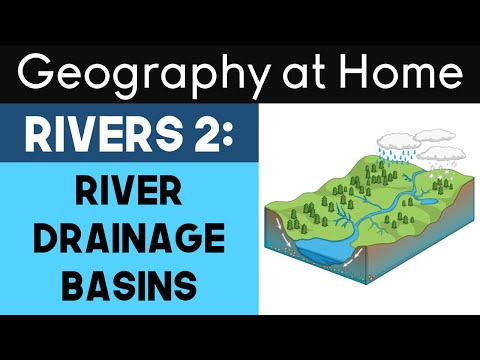 Rivers 2: River drainage basins┇Geography at Home - Full Online Lesson