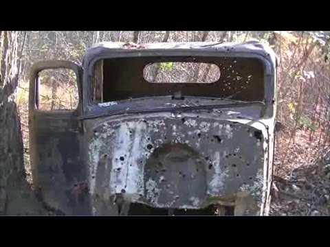 THE DEATH CAR! Found Abandoned Ghost Town High in Appalachian Mountains | Urban Exploration w/ JD