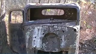 THE DEATH CAR! Found Abandoned Ghost Town High in Appalachian Mountains   Urban Exploration w/ JD