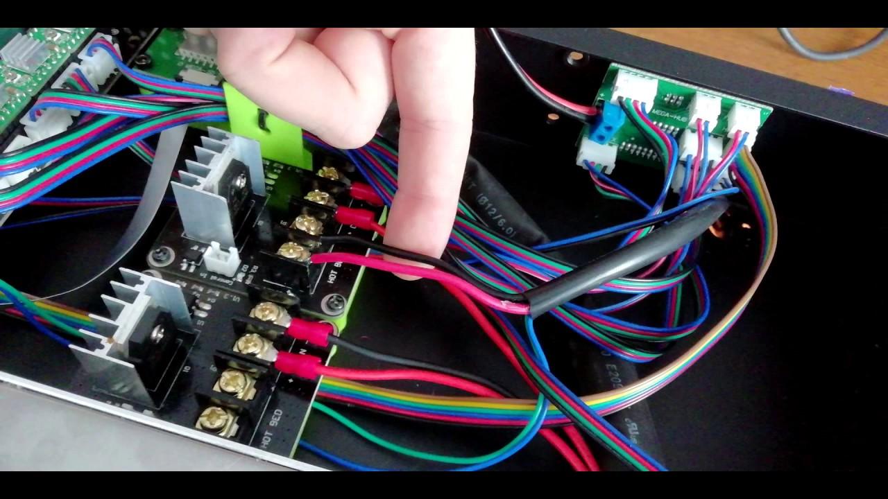 Mosfet Instalation Anycubic I3 Mega - Upgrade