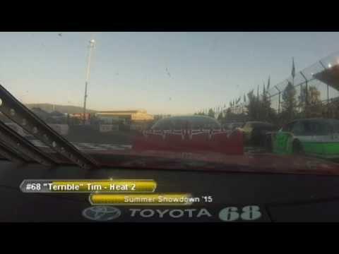 "Evergreen Speedway SLM #68 ""Terrible"" Tim McDougald Summer Showdown Heat Race 6/26/15"