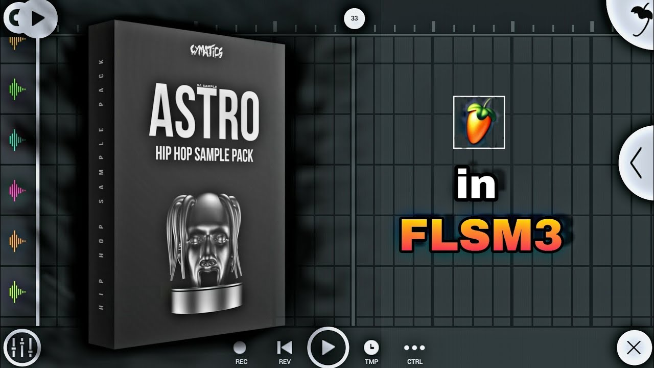Cymatics - Astro Hip Hop Sound Sample Pack Free Download And Install in FL  Studio Mobile 3