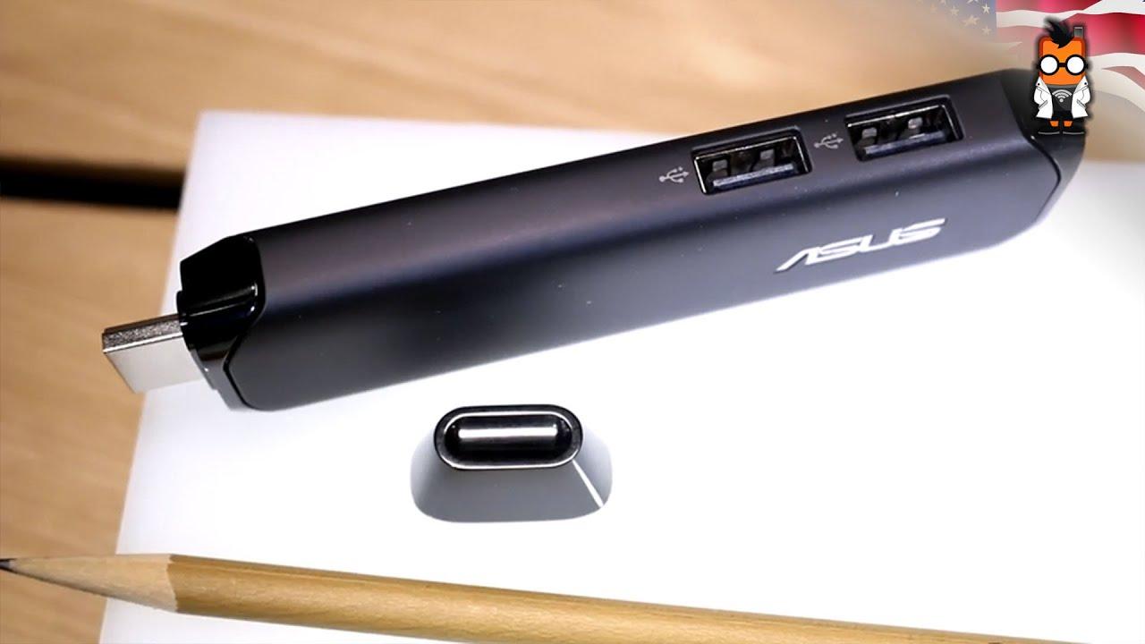 ASUS Pen Stick Hands On: Windows 10 Stick PC [English]