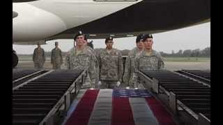 Dignified Transfer of Army Staff Sgt. William R. Wilson III