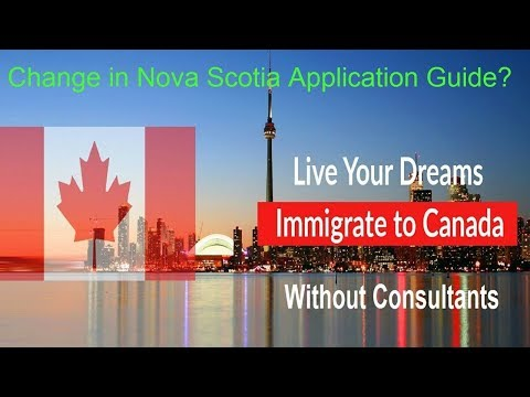 Free Guide Canada Immigration Nova Scotia new Application Guide 24th Oct 2017