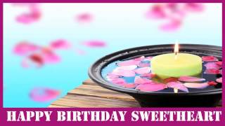 Sweetheart   Birthday Spa - Happy Birthday