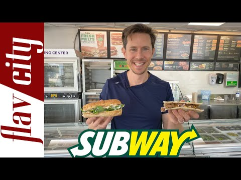 Why SUBWAY Is Healthier Than You Think - Full Menu Review