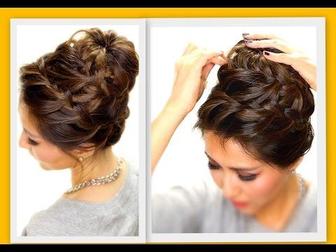 ★-epic-braid-bun-|-braids-hairstyles-for-long-medium-hair