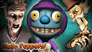 We Must Escape this Madness! | Hello Puppets - Part 3 ENDING (Playthrough)