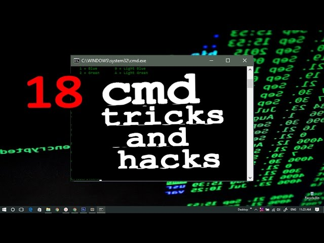 18 CMD Tips, Tricks and Hacks   CMD Tutorial for Beginners   Command Prompt   Windows 7/8/8.1/10