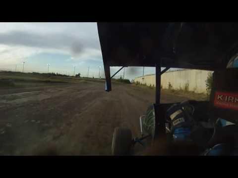 Marcus Johnson Heat Race Win at Cora Speedway