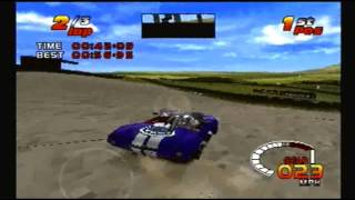 TOCA 2 Touring Car Challenge PS1: Knockhill