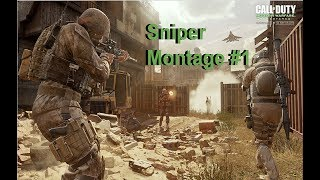 Call of Duty Modern Warfare Remastered | Sniper Montage #1