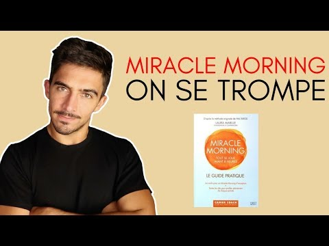 MIRACLE MORNING LIVRE