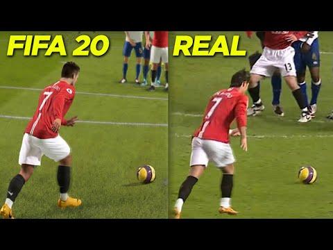 GOLAÇOS DE FALTA DO CR7 QUE FORAM RECRIADOS NO FIFA 20!!! ISSO É ASSUSTADOR!!!