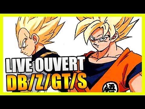 ACTU DRAGON BALL (SUPER) ET NOUVEAUTÉS SUR LA CHAINE - LIVE DBTIMES