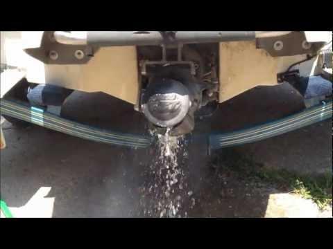 jet boat water hose hook up