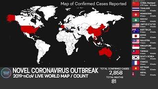 [Testing] Novel Coronavirus outbreak, Live MAP/COUNT