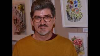 Pintor Luis Oitaven Rodrigues – Admirável exemplo de superar  AVC por amor à arte