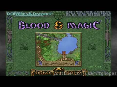 Blood & Magic - Sound Canvas music - 7030 - Herne's Wood