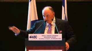 Dr. Moshe Kantor, President, European Jewish Congress at the WJC Governing Board