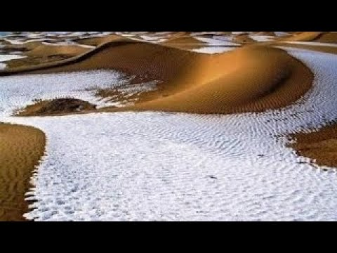 Moroccans Freeze to Death as Snow Blankets the Sahara & North Africa | Mini Ice Age 2015-2