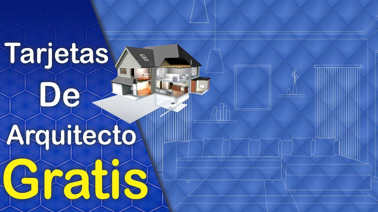 Diseños de Tarjetas de Presentación Para Arquitecto (a) Colección 1 ...