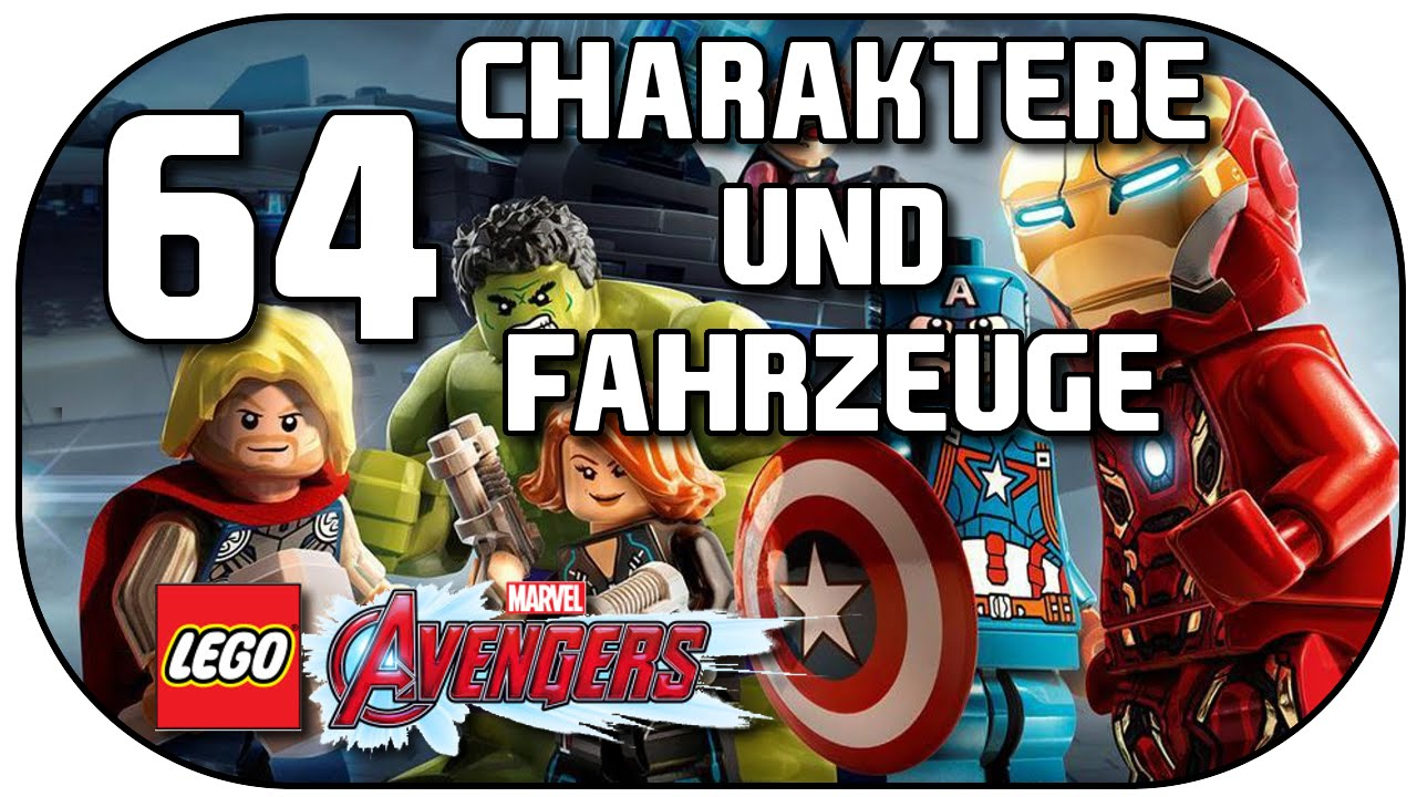 Let's Play LEGO Marvel's Avengers #64 All charakters ...