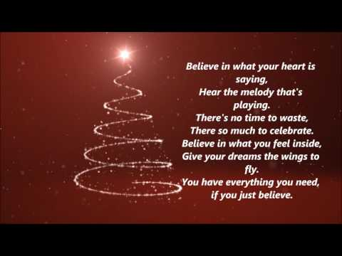 The Polar Express - Believe (Lyrics)