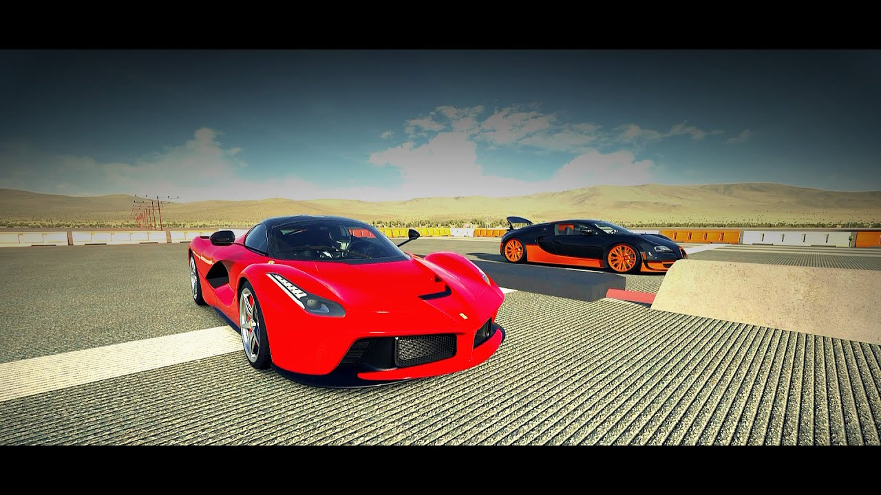 Forza 5 Drag Race - Ferrari LaFerrari Vs. Bugatti Veyron SS - YouTube