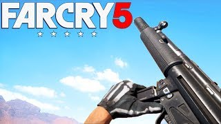 FAR CRY 5 Gun Sounds of ALL Weapons