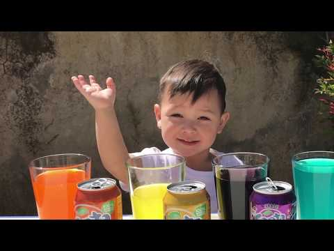 Thumbnail: Learn Colors With Fanta for Children, Toddlers and Babies | Bad Kid Learns Colours
