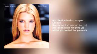 Watch Jessica Simpson Betcha She Dont Love You video