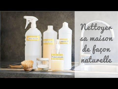 Nettoyer sa maison naturellement