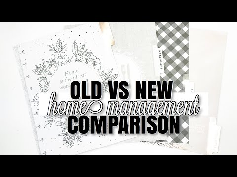 OLD VS NEW Household Management Extension Pack | At Home With Quita