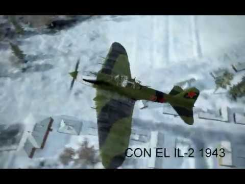 IL 2 Ptab Train Attack Edited