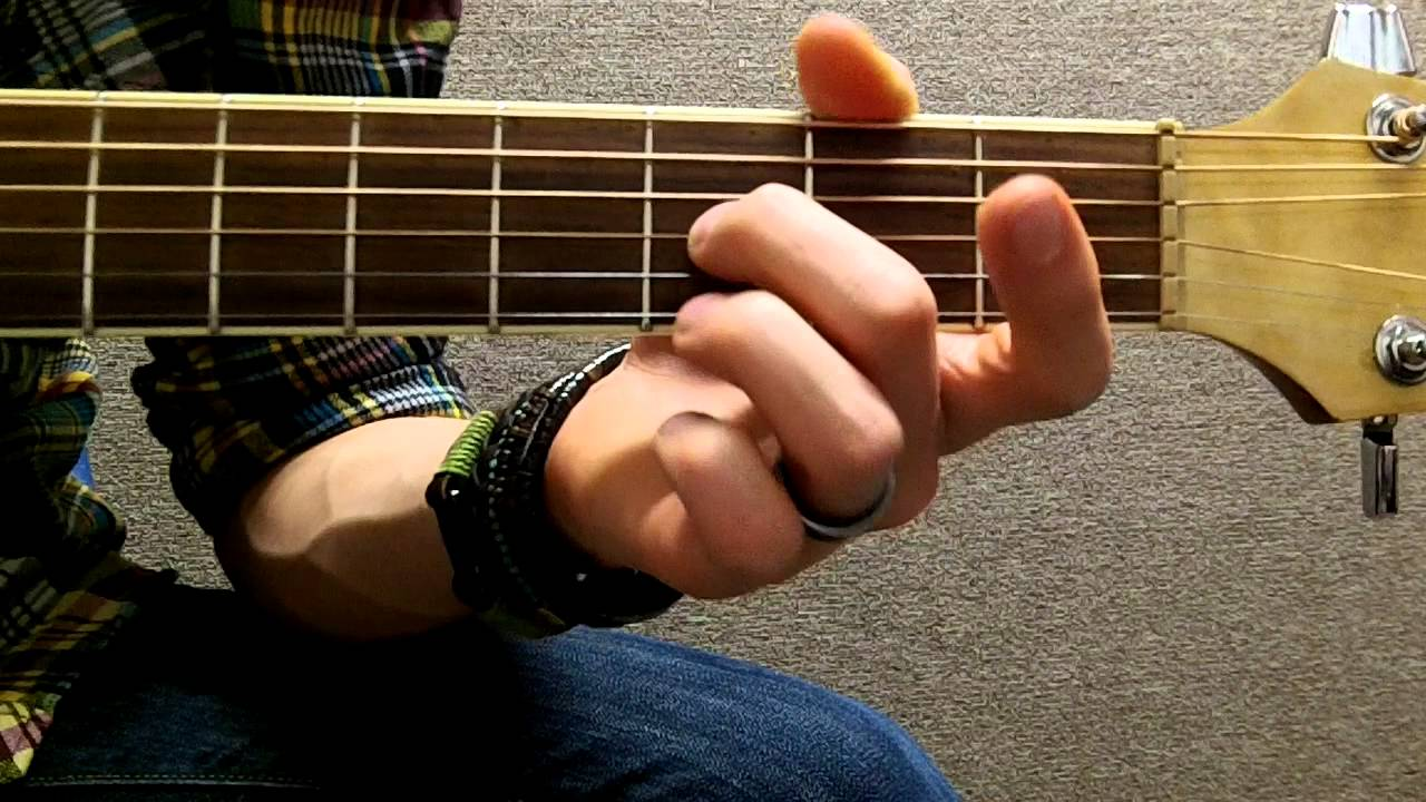 How To Play Eb Flat On Guitar Youtube
