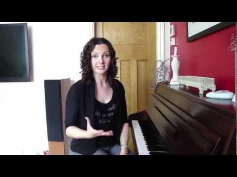 Basic Vocal Warm Ups - Sarah Brickel...
