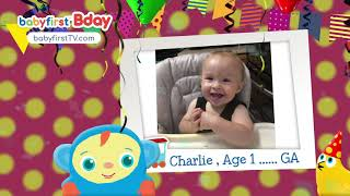 BabyFirst BDay - August BDay - 99 - William, Josiah, Erick, Charlie, Otto, Kannon,