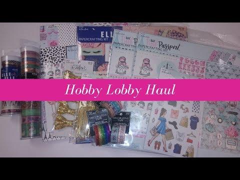 Hobby Lobby Planner Haul | Huge Savings