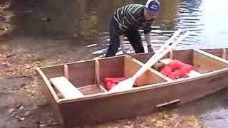 The Boy Mechanic Project: Portable Folding Boat