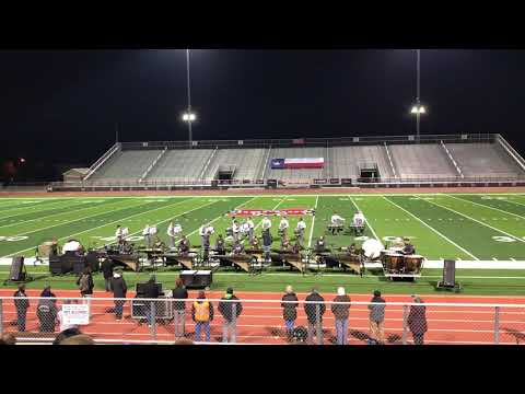 Lone Star Classic 2018 Drumline Competition Marcus Exhibition